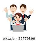 ビジネスチーム オペレーター 29779399