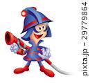 消防少年キャラクター、消防士、レスキュー隊員キャラクター 29779864