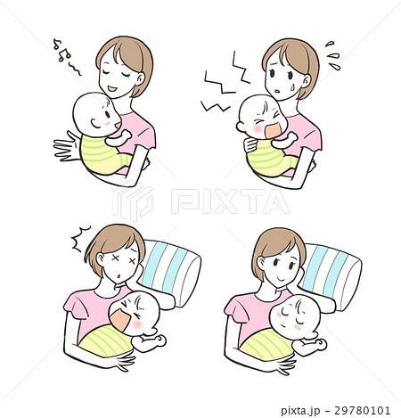 育児(お母さんと赤ちゃん) 29780101