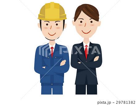 ビジネスチーム スーツ 作業着 29781382
