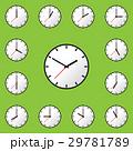 時計 ベクタ ベクターのイラスト 29781789