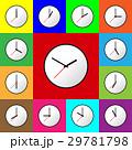 Set clock icon Vector illustration design EPS10 29781798