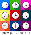 Set clock icon Vector illustration design EPS10 29781801