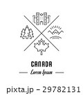 Vector Line Banner Canada 29782131