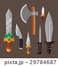 Knife weapon dangerous metallic vector 29784687