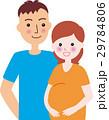 妊婦 人物 ベクターのイラスト 29784806