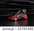 電気自動車 EV クルマのイラスト 29785489