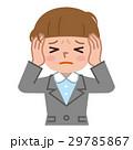 頭痛 体調不良 ベクターのイラスト 29785867