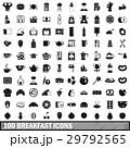 100 100 ブレックファーストのイラスト 29792565