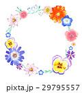 花 手描き 水彩画のイラスト 29795557