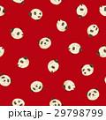 パンダ 動物 シームレスのイラスト 29798799