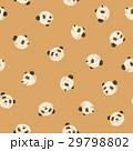 パンダ 動物 シームレスのイラスト 29798802