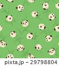 パンダ 動物 シームレスのイラスト 29798804