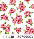 薔薇 花柄 花素材のイラスト 29799003