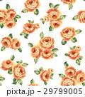薔薇 ローズ 花柄のイラスト 29799005