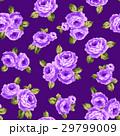 薔薇 ローズ 花柄のイラスト 29799009