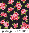 薔薇 ローズ 花柄のイラスト 29799010