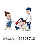 母の日 ベクター 家族のイラスト 29803712