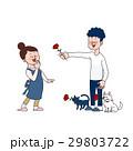 母の日 ベクター 夫婦のイラスト 29803722
