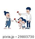 母の日イメージ 家族 29803730