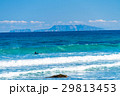 白浜海岸 海 波の写真 29813453