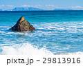 白浜海岸 海 波の写真 29813916