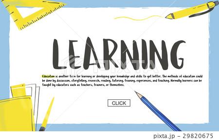 School Knowledge Learning Academics Studyのイラスト素材 [29820675] - PIXTA