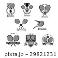 Tennis vector icons for tournament award badges 29821231