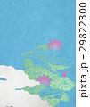 蓮 空 雲のイラスト 29822300