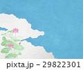 蓮 空 雲のイラスト 29822301