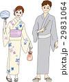 男性 女性 浴衣のイラスト 29831064