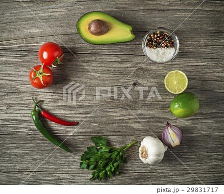 Avocado guacamoleの写真素材 [29831717] - PIXTA