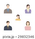 3世代家族 親子 アイコンのイラスト 29832346