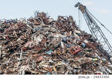 鉄くず置き場 / 産業廃棄物 29833460