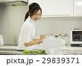 女性 キッチン 調理の写真 29839371