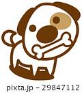 犬 骨 ベクターのイラスト 29847112