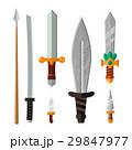 Knife weapon dangerous metallic vector 29847977