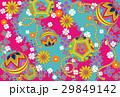 デジタル和素材手鞠ピンク系 29849142