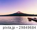富士 湖 夕日の写真 29849684