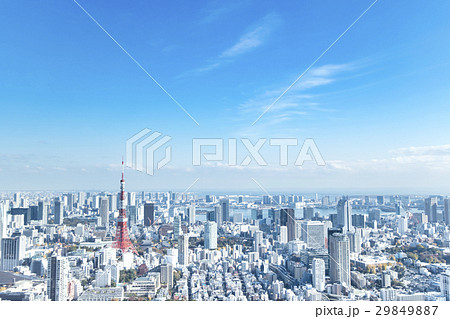 東京都市風景 29849887