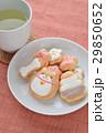 クッキー お菓子 飲み物の写真 29850652