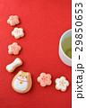 クッキー お菓子 飲み物の写真 29850653