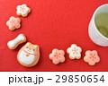 クッキー お菓子 飲み物の写真 29850654