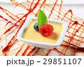 Vanilla custard dessert 29851107