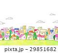 街 街並み 家並みのイラスト 29851682