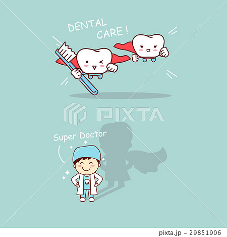 super dentist and tooth 29851906