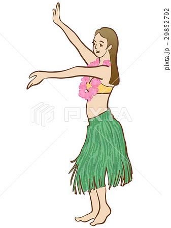 フラダンスの女の子 29852792