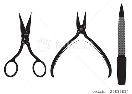 Manicure set. Scissors, nippers, file 29852834