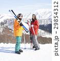 スキー カップル ポートレート 29854312