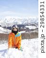 スキー場 男性 ポートレート 29854331